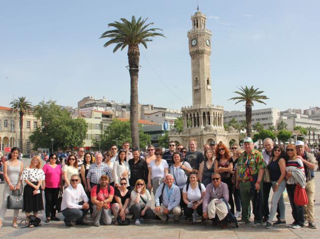 Alman tur operatörleri İzmir'de
