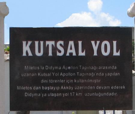 """Aydın'da 17 km'lik """"Kutsal Yol"""" projesi hayata geçti"""