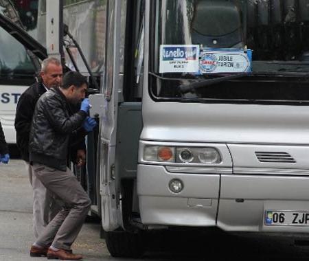 Çalıntı tur otobüsü alarmı
