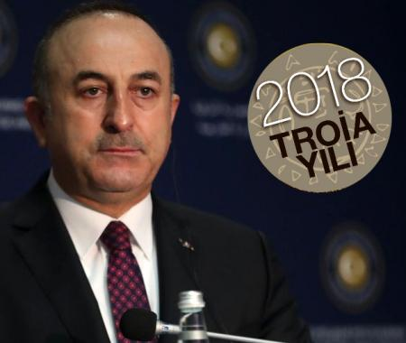 Dışişleri Bakanı Mevlüt Çavuşoğlu 2018 Troia yılına tam destek verdi.