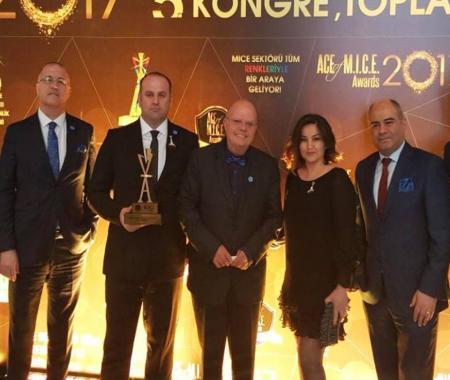 Elite World Van'a ikinci kez Ace of Mice ödülü