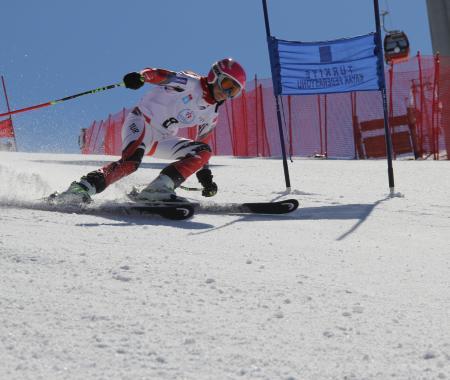 Erciyes Kayak Merkezi'de Erciyes Cup heyecanı