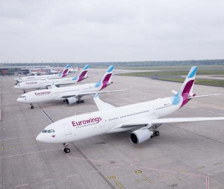 Eurowings ve South African Airways'ten güç birliği