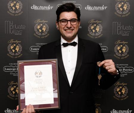Fer Hotel'e 'Asya'nın En iyi Şehir Oteli' ödülü