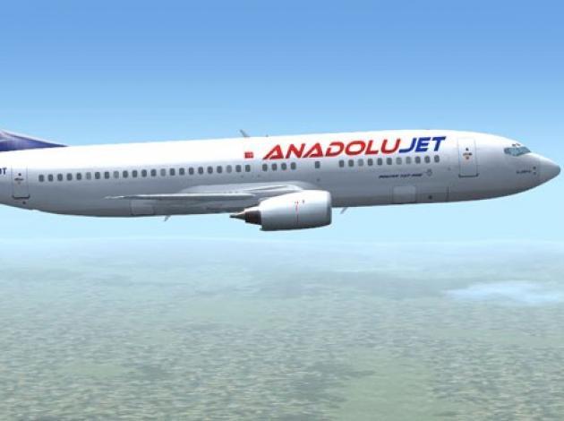 Anadolujet uçağına kaçırılma girişimi