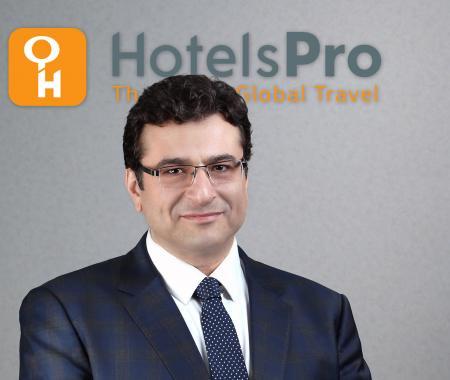 HotelsPro'ya yeni Ortadoğu, Afrika ve Güney Asya Bölge Direktörü