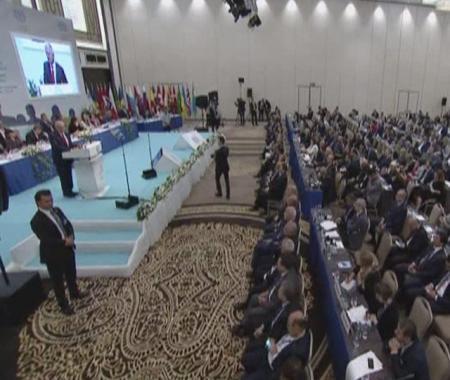 ILO toplantısına, boykot damga vurdu