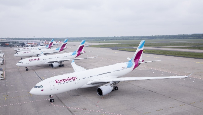 Eurowings Karayipler'e uçacak