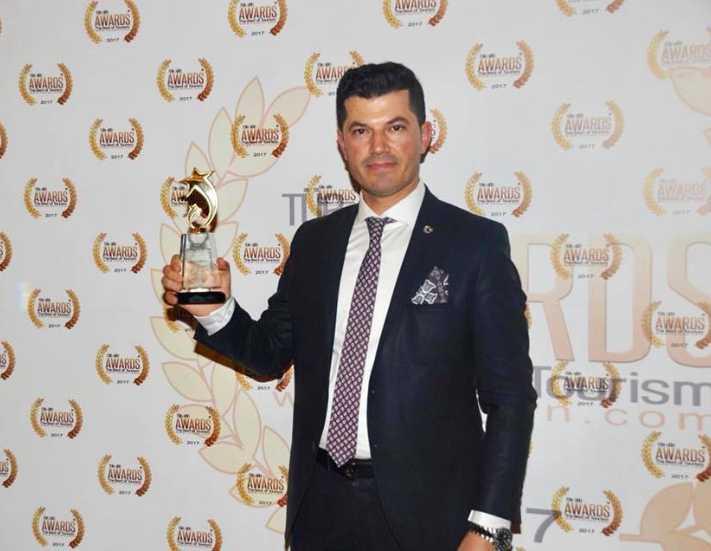 Hüseyin Aslan'a 'Yılın Turizm Profesyoneli' ödülü