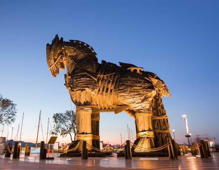 Avrupalı turist Truva Atı'yla gelecek