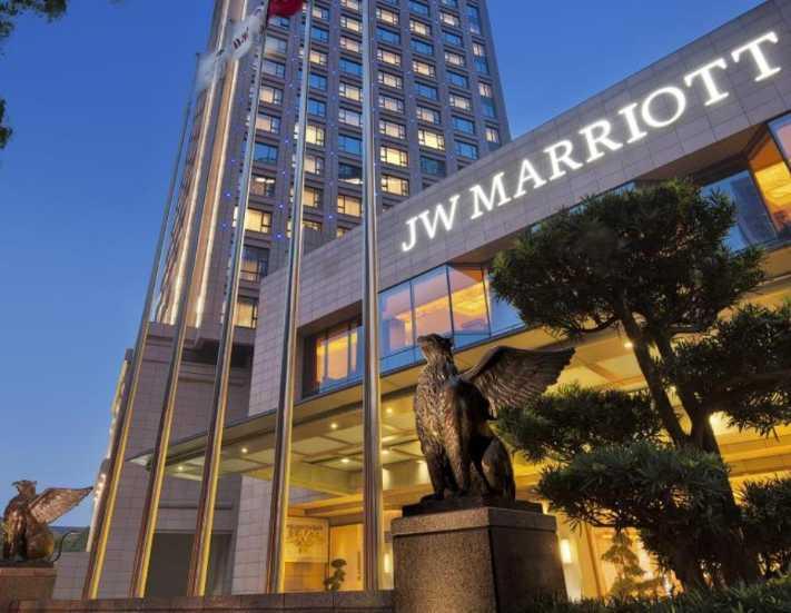 Çin JW Marriott'ı cezalandırdı