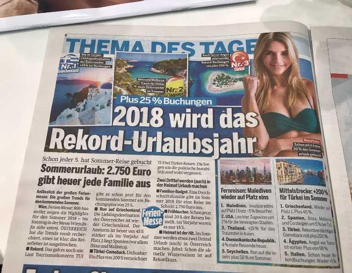 Avusturya'dan Türkiye'ye rekor talep