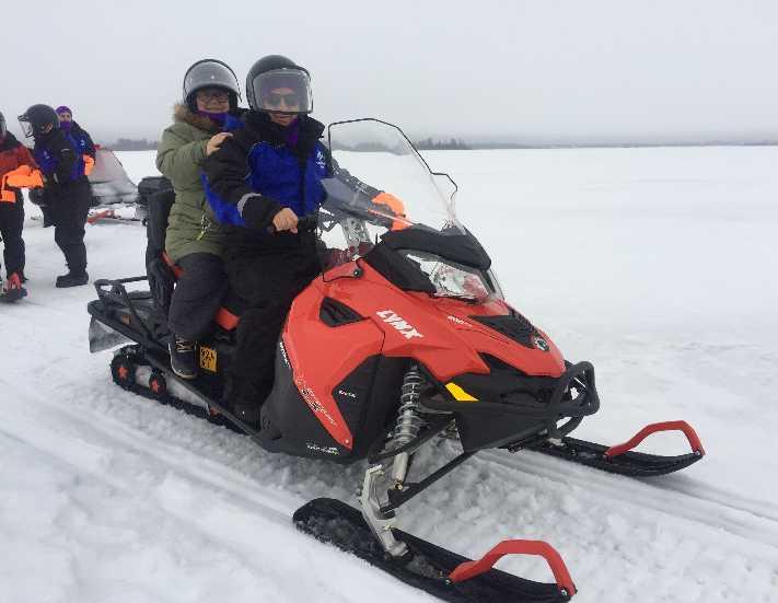 Laponya-Lapland'ta Yılbaşı