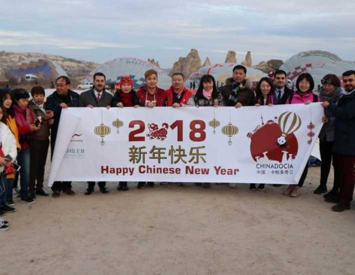 Kapadokya'da 'Chinadocia' projesi başladı