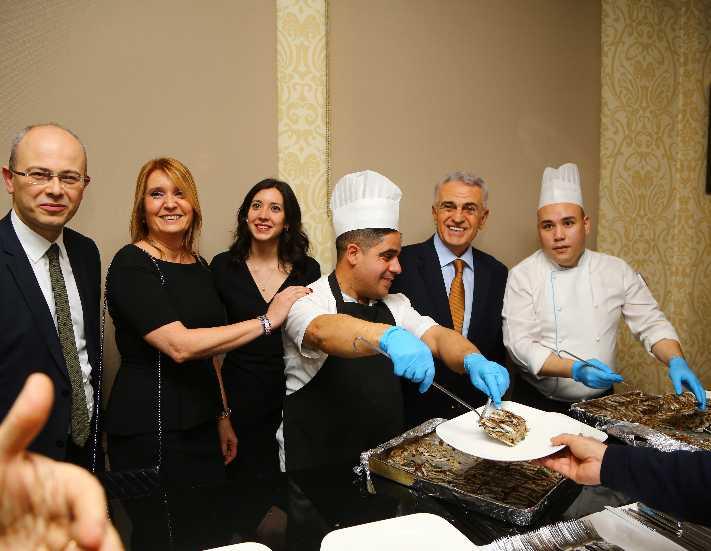 Skal International İstanbul 'Hamsili Pilav' gecesinde buluştu