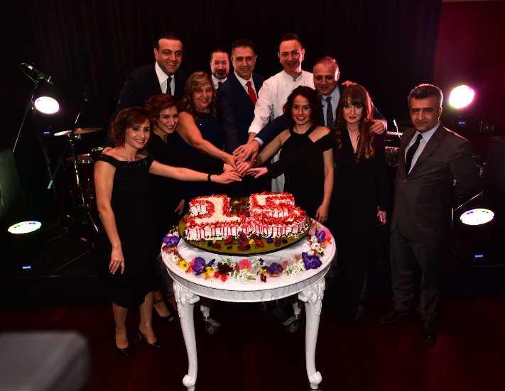 Mövenpick Hotel Istanbul'dan 15'inci yaşa görkemli parti