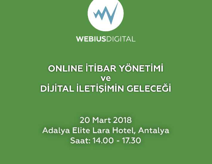 Online itibar yönetimi semineri Antalya'da