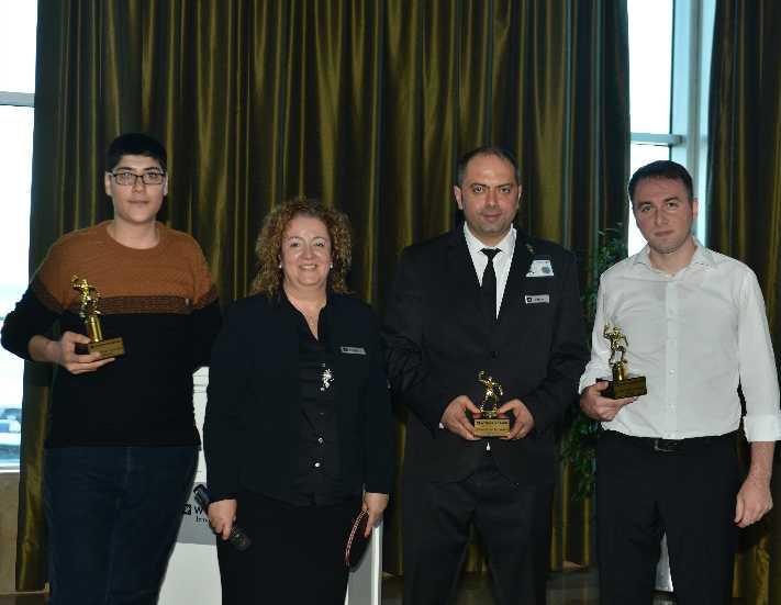 Wyndham Grand İzmir Özdilek ekibi başarılarını kokteylle kutladı
