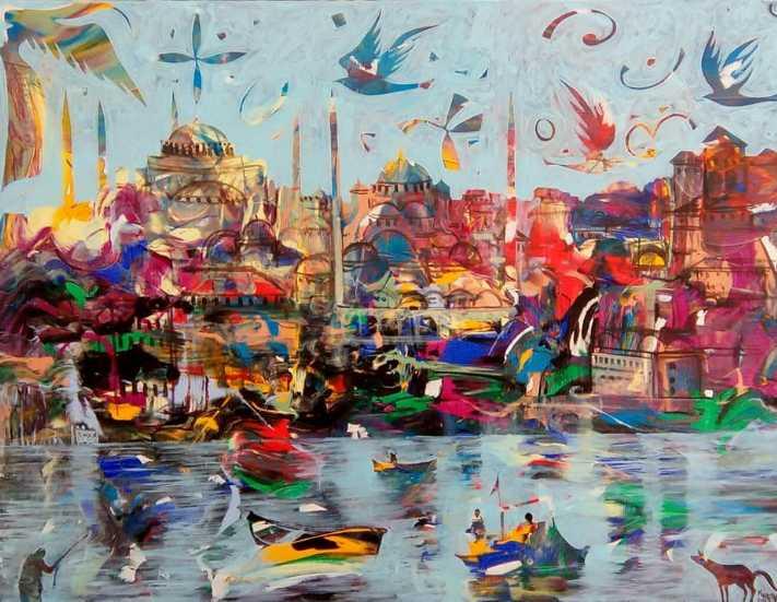Trump Art Gallery'de'Büyüleyen Şehir İstanbul' sergisi