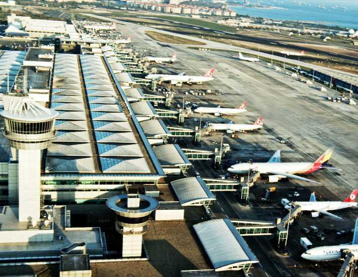 İstanbul'un havalimanları Avrupa'nın zirvesinde