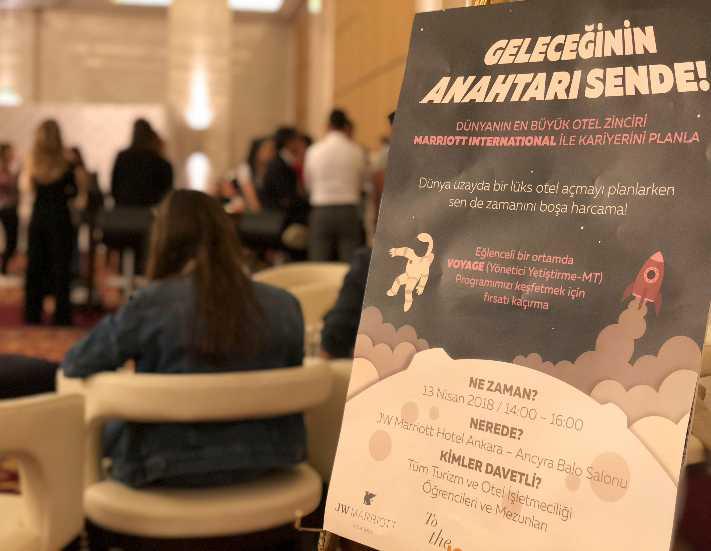 JW Marriott Ankara'da Kariyer Günü etkinliği