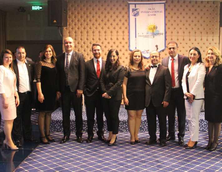 SKAL İzmir'e 10 yeni üye