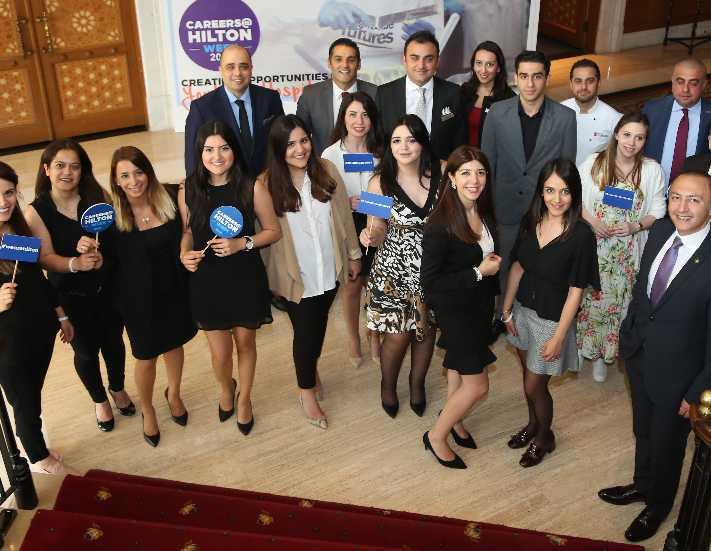 Hilton turizm öğrencilerini ağırladı