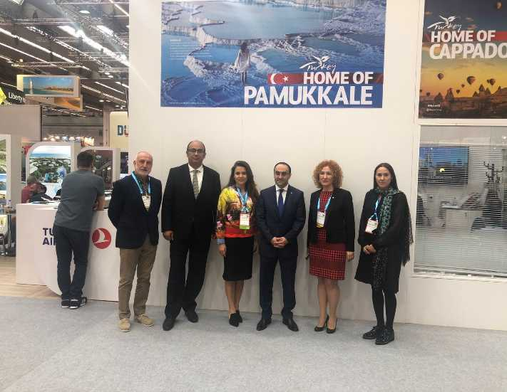 ICVB İstanbul'u Frankfurt'ta tanıttı