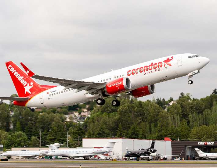 Türkiye'nin ilk Boeing 737 MAX 8'i böyle üretildi