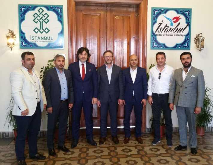 İTO Oteller Komitesi'nden İstanbul İl Turizm Müdürlüğü'ne ziyaret
