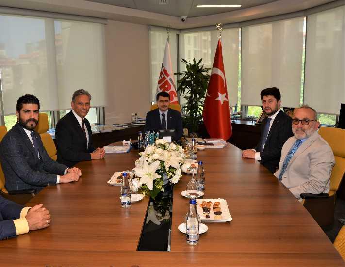 İstanbul Valisi Vasip Şahin'den TÜRSAB'a ziyaret
