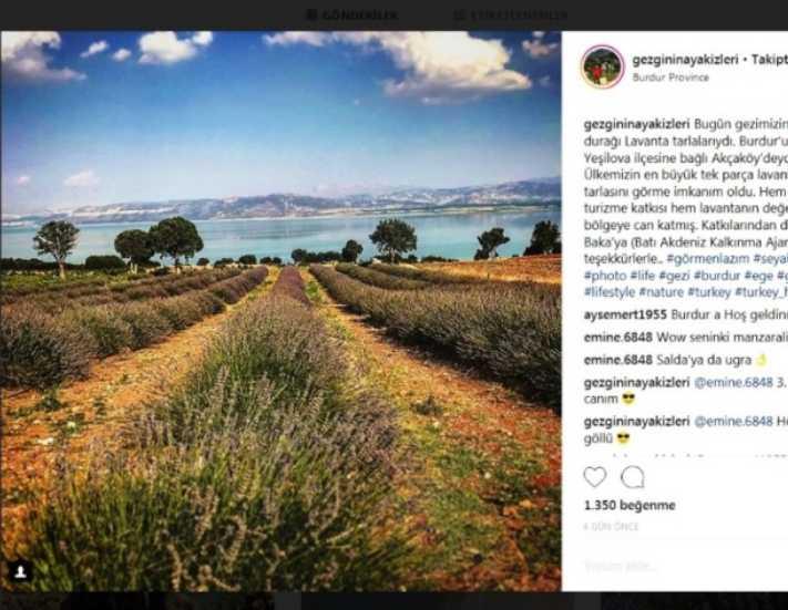 Burdur ve Isparta sosyal medyada tanıtılıyor