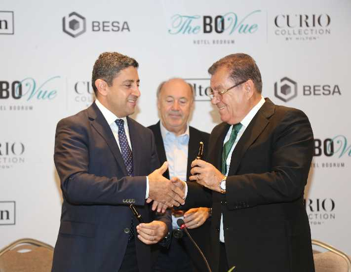 Curio Collection by Hilton'un imzaları atıldı