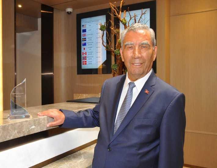 Polat'a Marriott'tan 'Ömür Boyu Başarı' ödülü