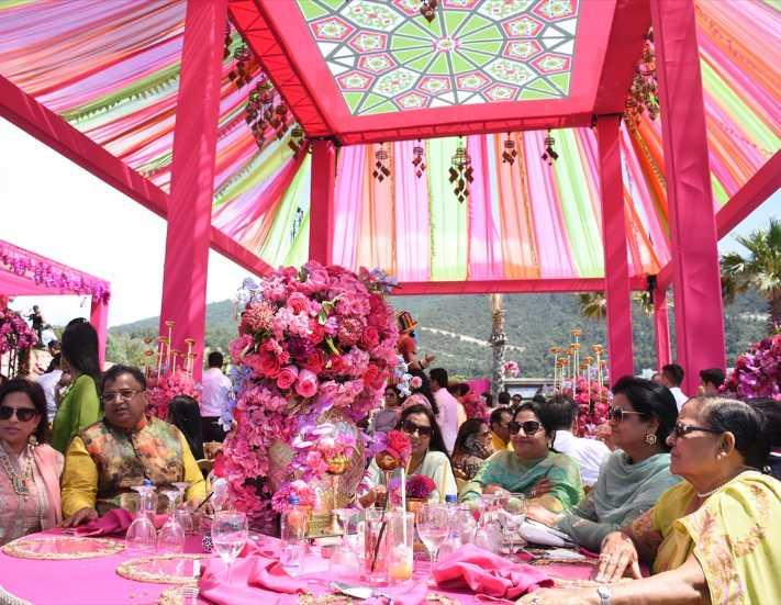 Antalya'daki 5 Milyon Dolarlık Hint düğünü iptal oldu