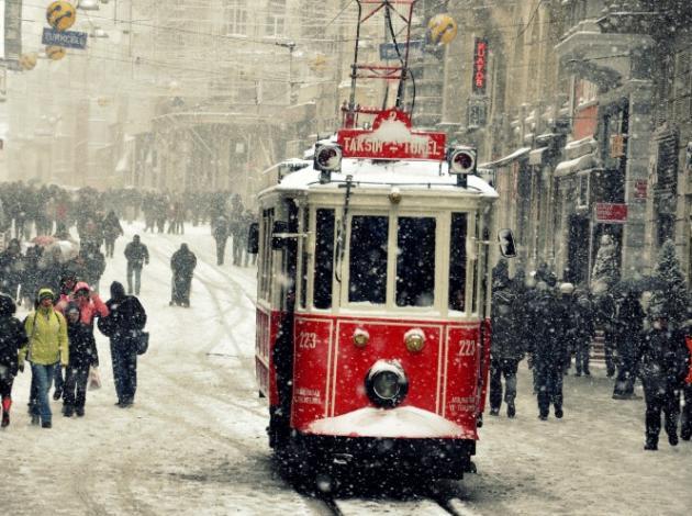İstanbul otellerinde kar bereketi