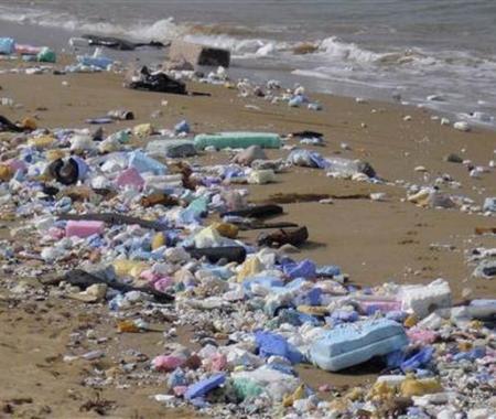 İstanbul'un ünlü plajında denize girmek imkansız