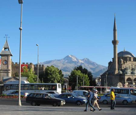 Kayseri'de kısa şehir turu...