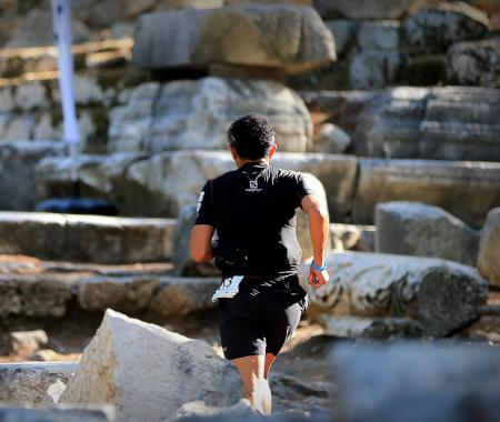 Likya Yolu Ultra Maratonu tamamlandı
