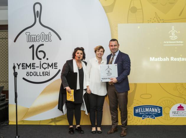 Matbah Restaurant'a 'En İyi Osmanlı Mutfağı' ödülü