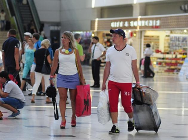 Ne varsa gurbetçi turistte var
