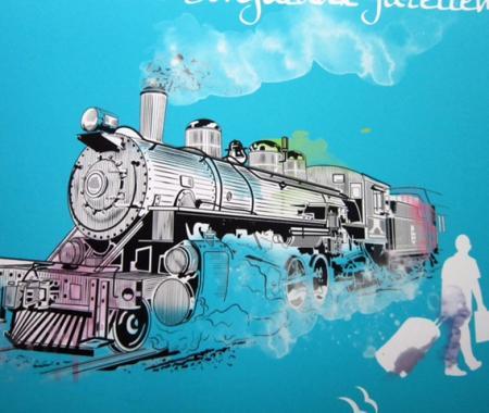 Nostalji treniyle Batı Karadeniz'e yolculuk