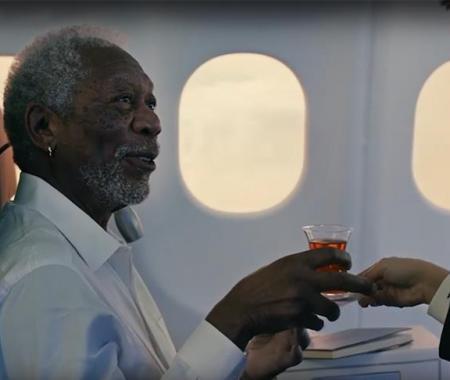 THY'nin Morgan Freeman'lı reklamı rekor izleyiciye ulaştı