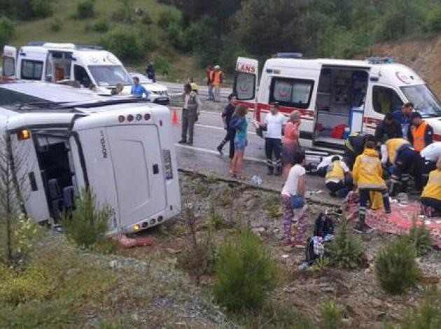 Tur kazalarına kim dur diyecek?