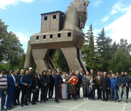 Turizm yazarlarından 2018 Troia yılına tam destek