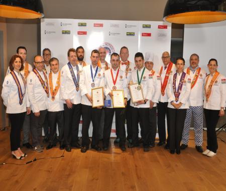 Türkiye Genç Aşcı Yarışması'nın kazananları belli oldu