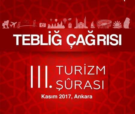 Türkiye Turizm Şurası Ankara'da toplanacak