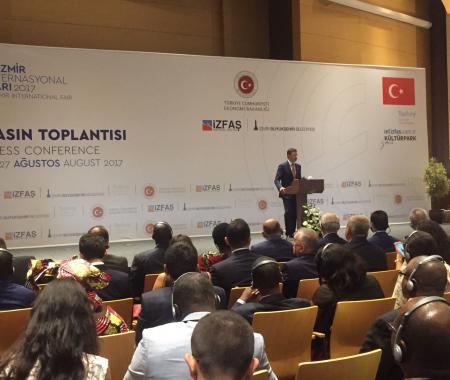 TÜRSAB İzmir Enternasyonal Fuarı'nda Rusya ile buluştu