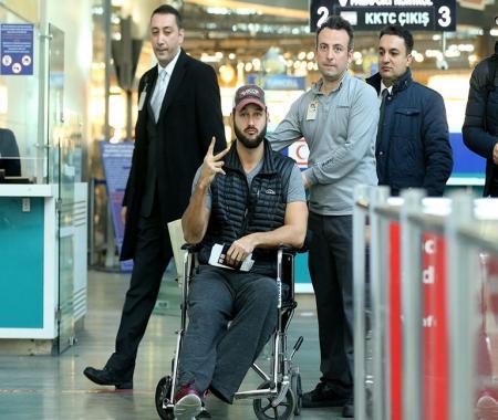 Yaralılar ülkelerine dönüyor