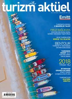 TURİZM AKTÜEL DERGİSİ OCAK 2018 / EMITT